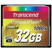 Transcend Ultimate Compact Flash 32GB 1000x (TS32GCF1000)