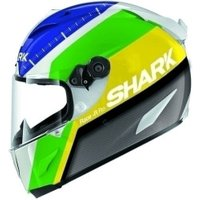 SHARK Race-R Pro Carbon Racing Division White/Green/Yellow