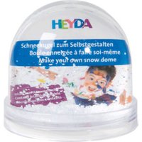Heyda Snow globe with picture fold 9x8,5