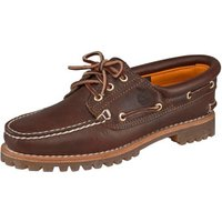 Timberland Women's Heritage Noreen 3-Eye Boat Shoe (51304) brown smooth