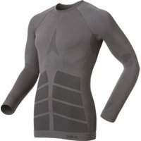 Odlo Shirt l/s Crew Neck Evolution Warm Men (180902) castlerock / black