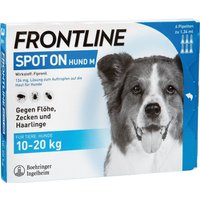 Frontline Spot On Hund M 10-20kg 6 Pipettes