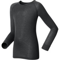 Odlo Shirt L/S Crew Neck Warm Kids Black (10459)