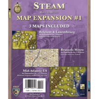 Mayfair Games Steam - Rails to Riches - Map Expansion #1