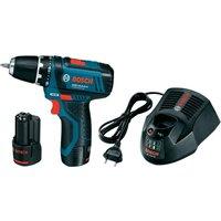 Bosch GSR 10.8-2-LI Professional 2 x 2.0 Ah + L-Boxx (0601868109)