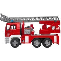Bruder MAN Fire engine with slewing ladder (02771)