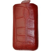 SunCase Mobile Phone Case Croco Red (iPhone 3G / 3GS)