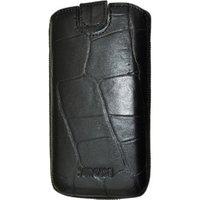 SunCase Mobile Phone Case Croco Black (Samsung Galaxy S3)