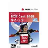 AgfaPhoto SDXC High Speed 64GB Class 10 (10428)