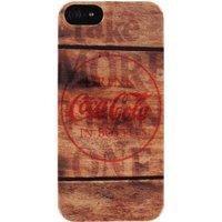 Coca-Cola Coke Wood (iPhone 5)