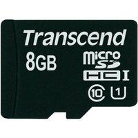 Transcend microSDHC 8GB Class 10 UHS-I (TS8GUSDCU1)