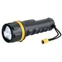 Ring 3 LED Heavy Duty Rubber Torch (RT5149)