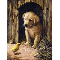 Royal & Langnickel Painting by Numbers Labrador Puppy Designed Painting Set