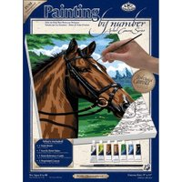 Royal & Langnickel Painting by Numbers Artist Canvas Thoroughbred Horse