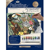 Royal & Langnickel Painting by Numbers Artist Canvas Series Zoo