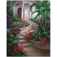 Royal & Langnickel Painting by Number Spanish Garden