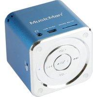 Technaxx Mini Musicman Soundstation Blue