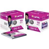 xlyne DVD+R DL 8,5 GB 8X 10er Jewelcase