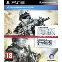 Tom Clancy's Ghost Recon Double Pack - Advanced Warfighter 2 + Future Soldier (PS3)