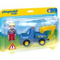 Playmobil 1.2.3 Tow truck