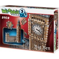 Wrebbit 3D Big Ben and Houses of Parliment (890 Pieces)