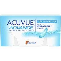 Johnson & Johnson Acuvue Advance for Astigmatism (6 pcs) +4.00