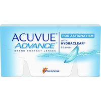 Johnson & Johnson Acuvue Advance for Astigmatism (6 pcs) +1.50