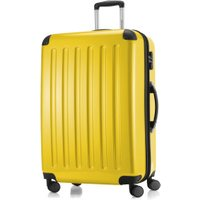Hauptstadtkoffer 4-Wheel Hard Shell Trolley 63cm yellow