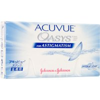 Johnson & Johnson Acuvue Oasys for Astigmatism (6 pcs) +5.50