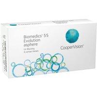 CooperVision Biomedics 55 Evolution UV -2.50 (6 pcs)