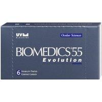 CooperVision Biomedics 55 Evolution UV (6 pcs) +5.50