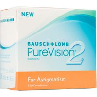 Bausch & Lomb PureVision 2 HD for Astigmatism -8.00 (6 pcs)