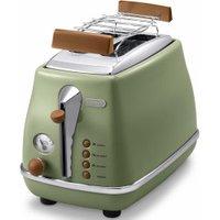 De'Longhi CTOV2103.GR Vintage Icona Olive Green