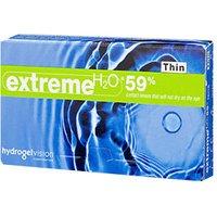 Hydrogel Vision Extreme H2O 59% Thin -3.50 (6 pcs)