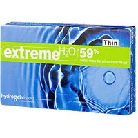 Hydrogel Vision Extreme H2O 59% Thin -3.75 (6 pcs)