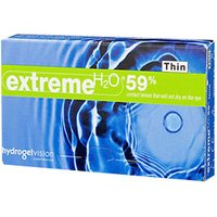 Hydrogel Vision Extreme H2O 59% Thin +1.25 (6 pcs)
