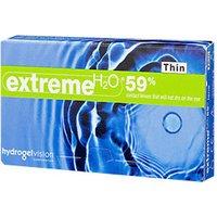 Hydrogel Vision Extreme H2O 59% Thin +1.50 (6 pcs)