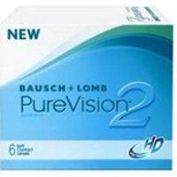 Bausch & Lomb PureVision 2 HD (3 pcs) +1.00