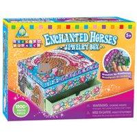 The Orb Factory Sticky Mosaics - Enchanted Horses Jewellery Box (64877)