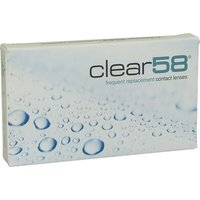ClearLab Clear 58 -2.50 (6 pcs)