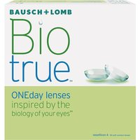 Bausch & Lomb Biotrue ONEday lenses (90 pcs) +1.00