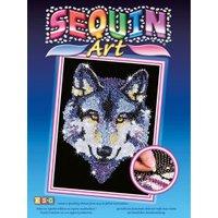 KSG Sequin Art Wolf
