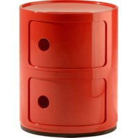 Kartell Componibili Cupboard red (496610)