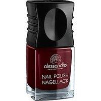 Alessandro Nail Polish 54 Midnight Red (10 ml)