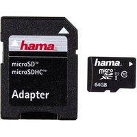 Hama microSDXC 64GB Class 10 UHS-I (108077)
