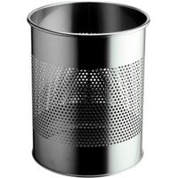 DURABLE Round Metal Bin Perforated (3310)