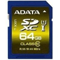 Adata Premier SDXC 64GB Class 10 UHS-I (ASDX64GUICL10-R)