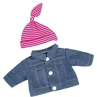Bayer Design Jeans Jacket with Cap for Dolls (82054)