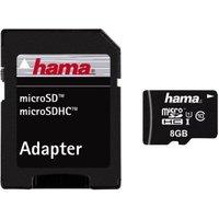 Hama microSDHC 8GB Class 10 UHS-I (114732)