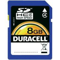 Duracell SDHC 8GB Class 4 (DU-SD-8192-R)